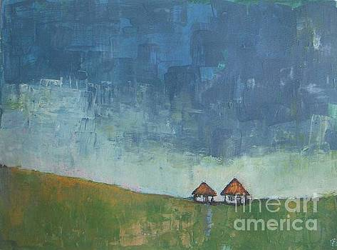Two Sisters Houses by Vesna Antic