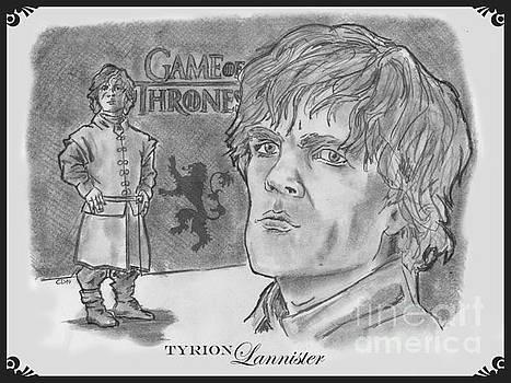 Tyrion Lannister-  by Chris  DelVecchio
