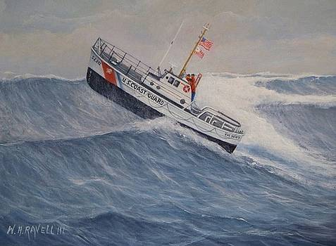 U. S. Coast Guard Motor Lifeboat Victory by William H RaVell III