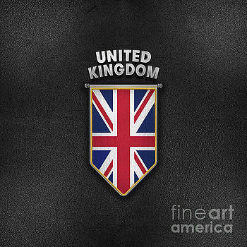 UK Pennant with high quality leather look by Carsten Reisinger