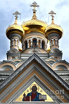 Ukrainian church by Andrew Michael