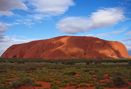 Uluru by Pamela Kelly Phillips