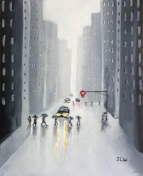 Umbrellas by Justin Lee Williams