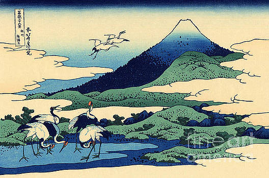 Umegawa in Sagami province, one of Thirty Six Views of Mount Fuji by Hokusai