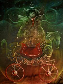 Un angel visita Tacachi by Jorge Porras