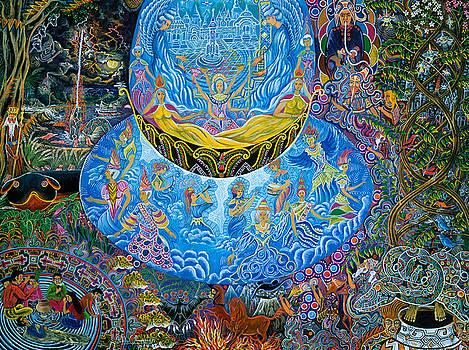 Unai Shipash  by Pablo Amaringo