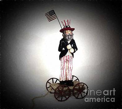 Uncle Sam pull toy by Don Fleming