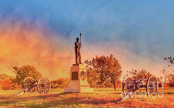 Under a Gettysburg Sky by Randy Steele
