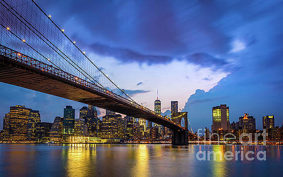 Under Brooklyn Bridge by Inge Johnsson