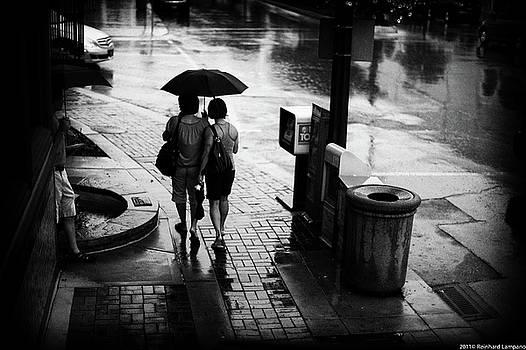 Under My Umbrella. by Reinhard Lampano