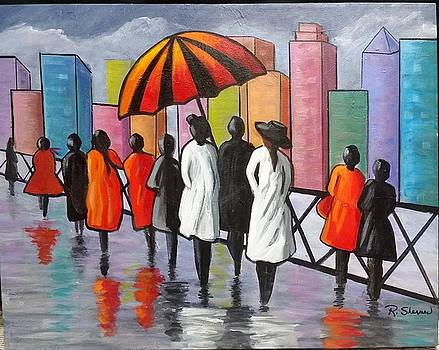 Under my Umbrella by Rosie Sherman