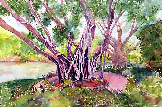 Under The Banyan Tree by Renee Chastant