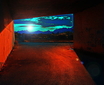 Under The Bridge by Ingrid Dance