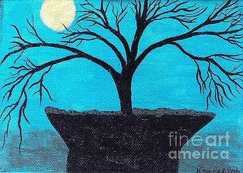 Under the full moon by Nancy Pace