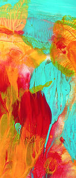 Amy Vangsgard - Under the Sea Abstract Panoramic