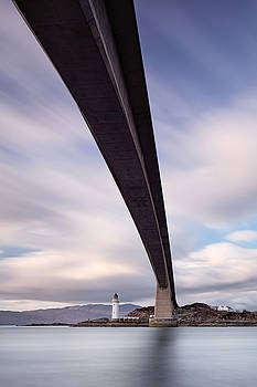 Under the Skye bridge by Grant Glendinning