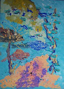 Underwater Abstract No. 3 by Helene Henderson