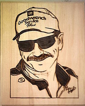 Unfinished Dale Earnhardt Sr by Timothy Wilkerson