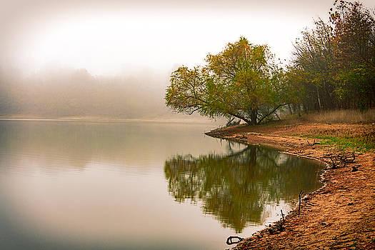 Unger Park Lake at Dawn by Robert FERD Frank