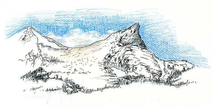 Unicorn Peak in September by Logan Parsons