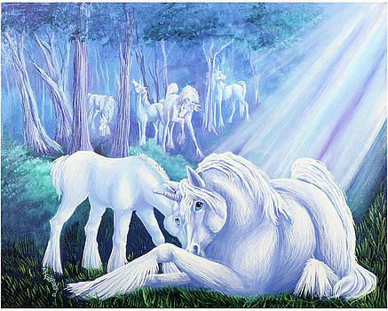 Unicorn's Early Light by Dianne Robillard