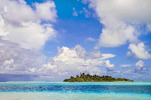 Jenny Rainbow - Uninhabited Small Island in Blue Ocean