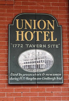Union Hotel Sign by Dave Mills