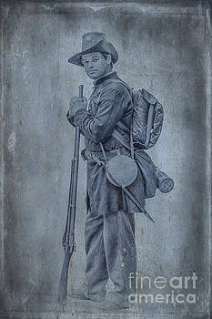 Union Soldier with Rifle by Randy Steele