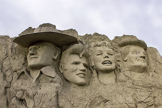 Unique Mount Rushmore by Tammy Chesney