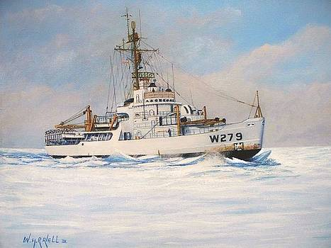 United States Coast Guard Icebreaker Eastwind by William H RaVell III