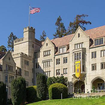 Wingsdomain Art and Photography - University of California Berkeley Historical Bowles Hall College Dormatory DSC4759sq