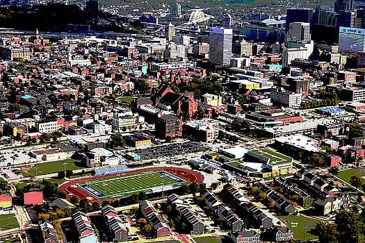 University of Cincinnati by Charles Shoup