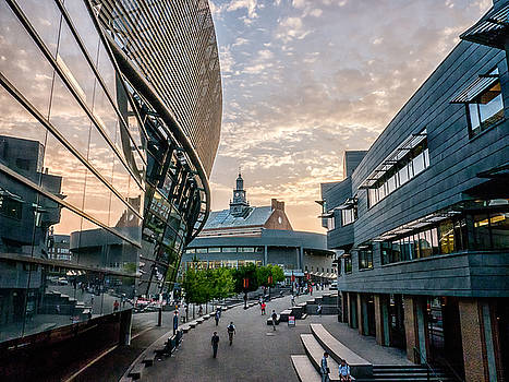 University of Cincinnati on a September Evening by Rob Amend