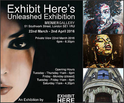 Unleashed Exhibition, March 2016 by Christel Roelandt