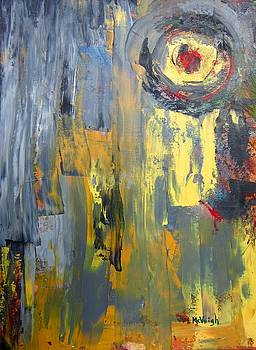Untitled Abstract by Marita McVeigh
