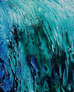 Untitled Blue by Larry Ney  II