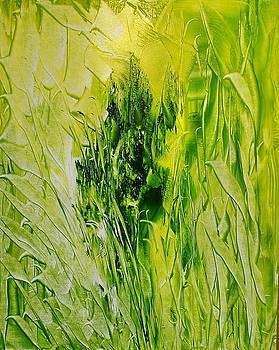 Untitled Green by Larry Ney  II