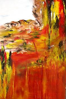 Untitled landscape by Larry Ney  II