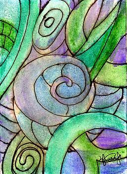 Up Close in the Garden by Wayne Potrafka