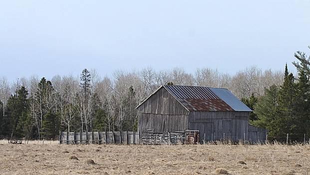 U.P. Historical Barn by Teresa McGill