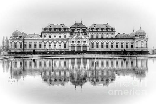 Upper Belvedere Palace, Vienna by David Birchall