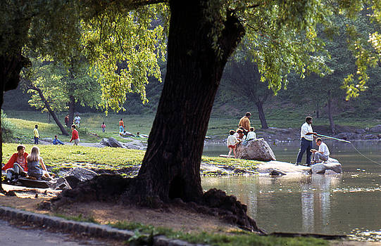 Upper Central Park c1968 by Erik Falkensteen