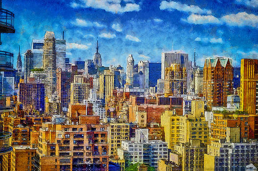 Upper Eastside Skyline by Kai Saarto