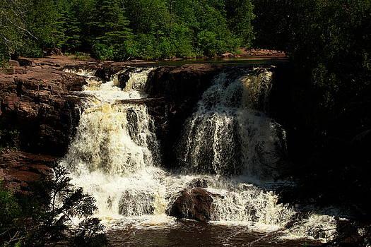 Upper Falls of Gooseberry Falls by Amanda Kiplinger