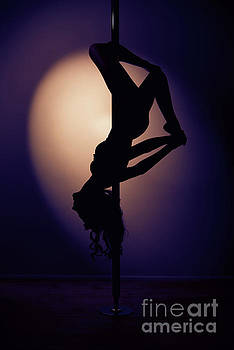 Upside Down Pole Dancer by Amanda And Christopher Elwell