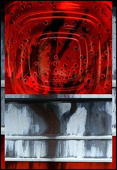 Urban Abstracts Seeing Double 38 by Marlene Burns