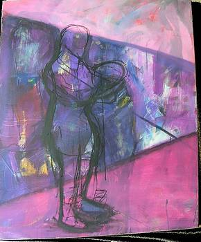 Urban figure by Karen Geiger