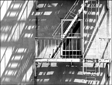 Urban Fire Escape by Rhea Malinofsky