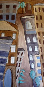 Urban Landscape 3 by Aliza Souleyeva-Alexander