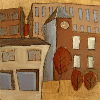 Urban Landscape 4 by Aliza Souleyeva-Alexander